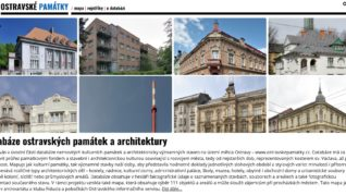 Databáze ostravských památek a architektury