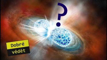 Neutronové hvězdy porodily stroncium!