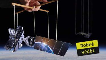 Co drží satelity na oběžné dráze?