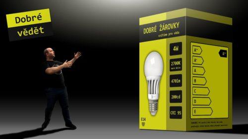 Zdroje světla – jak se vyznat v parametrech žárovek, LED a úsporek